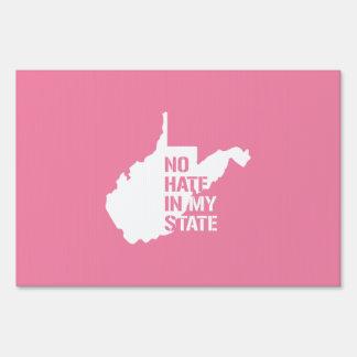 Virginia Occidental: Ningún odio en mi estado