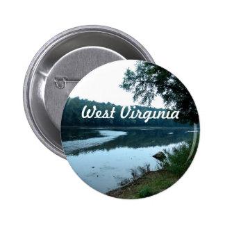 Virginia Occidental Pin Redondo 5 Cm