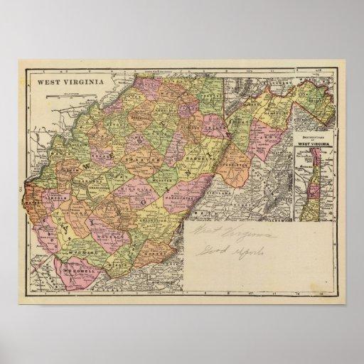 Virginia Occidental Póster
