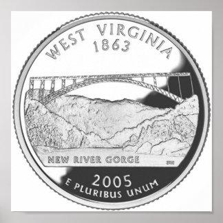Virginia Occidental Poster