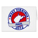 Virginia Occidental Ron Paul Tarjeta