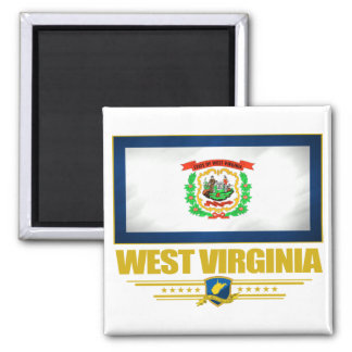 Virginia Occidental (SP) Imán Cuadrado