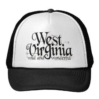 Virginia Occidental W&W_Black Gorra