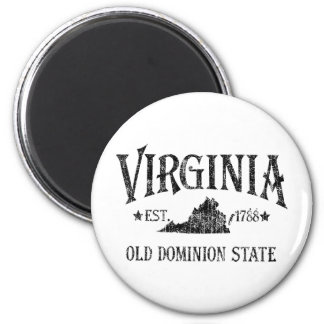 Virginia - Old Dominion State Fridge Magnets