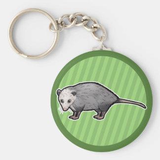 Virginia Opossum Keychain