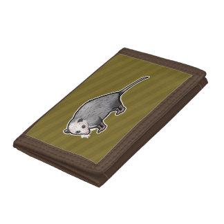 Virginia Opossum Tri-fold Wallet
