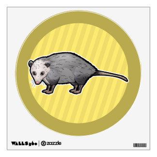 Virginia Opossum Wall Decal