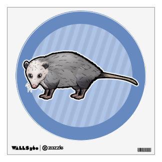 Virginia Opossum Wall Sticker