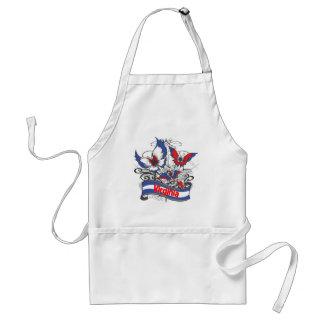Virginia Patriotism Butterfly Adult Apron
