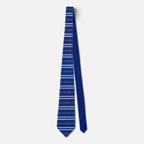 Virginia Patterned Striped Necktie