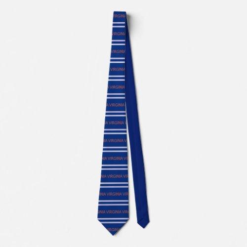 Virginia Patterned Striped Necktie