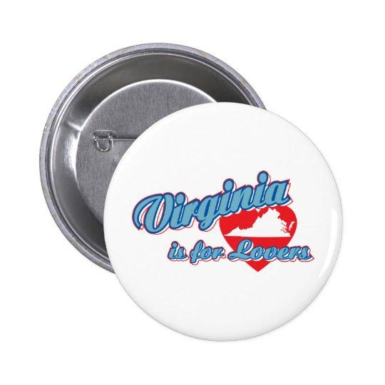 Virginia Pinback Button