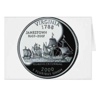 Virginia Quarter Card