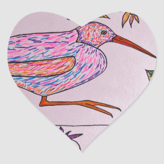 Virginia Rail Heart Sticker