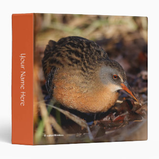 Virginia Rail in the Underbrush Binder