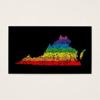 virginia rainbow business card