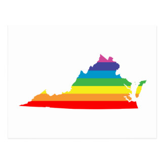virginia rainbow postcard