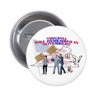 Virginia - Return Congress to the People! Button