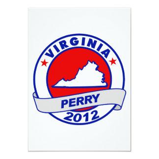 Virginia Rick Perry Invitación 12,7 X 17,8 Cm