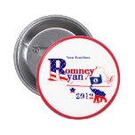 Virginia Romney and Ryan 2012 Button – Customize
