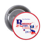 Virginia Romney and Ryan 2012 Button – Customize 2