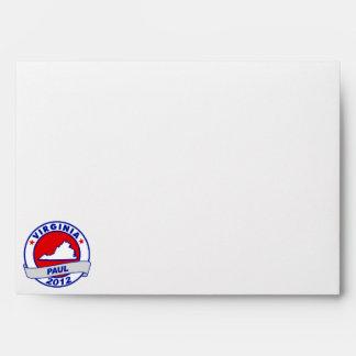 Virginia Ron Paul Envelopes