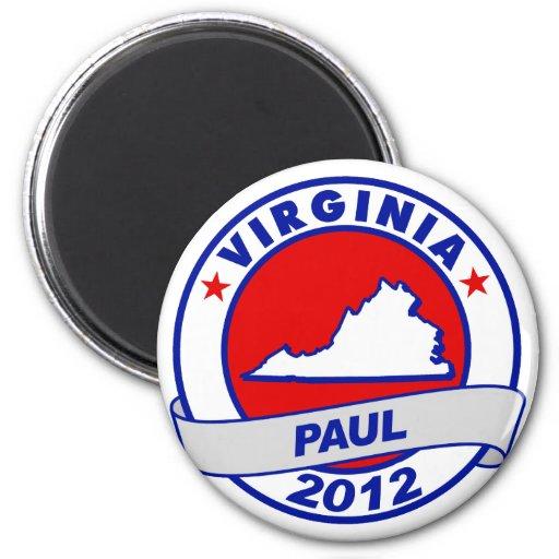 Virginia Ron Paul Imán Para Frigorífico