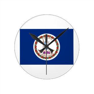 Virginia Round Clock