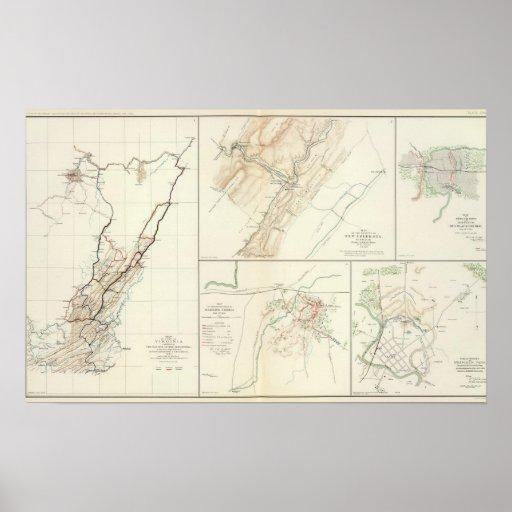 Virginia, rutas de Averell Póster