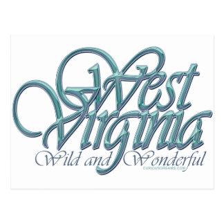 Virginia-salvaje y wonderful_4 del oeste tarjeta postal