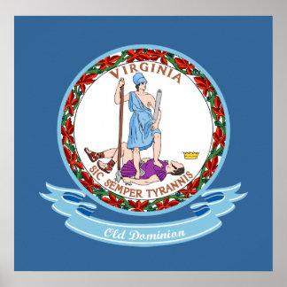 Virginia Seal Poster