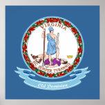 Virginia Seal Print