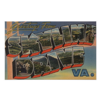 Virginia - Sky-Line Drive (National Park) Posters