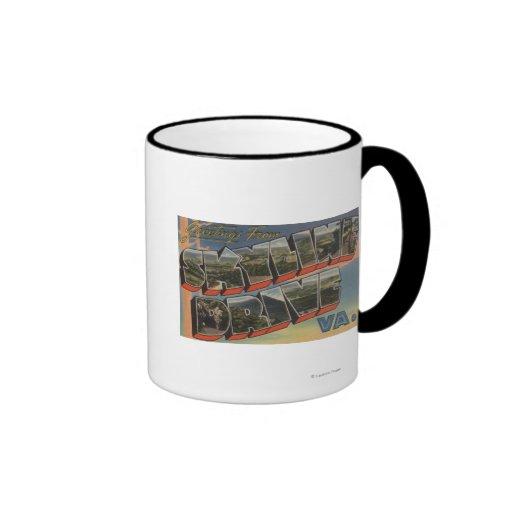 Virginia - Sky-Line Drive (National Park) Ringer Coffee Mug