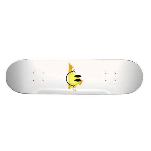 Virginia Smiley Face Skate Board Decks