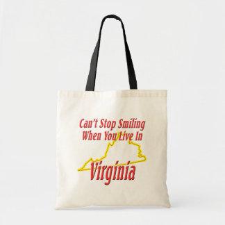 Virginia - Smiling Tote Bag