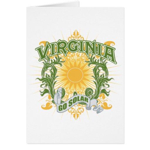 Virginia solar felicitación