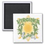 Virginia solar imán para frigorifico