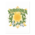Virginia solar postales