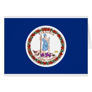 Virginia State Flag Card