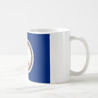 Virginia State Flag Classic White Coffee Mug