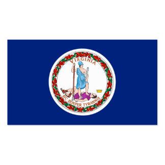 Virginia State Flag Design Pack Of Standard Business Cards