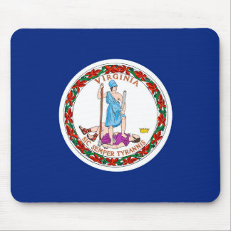 Virginia State Flag Design Mouse Pad