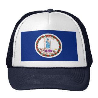 Virginia State Flag Design Trucker Hat