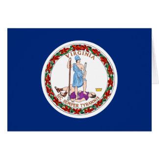 Virginia State Flag Greeting Card