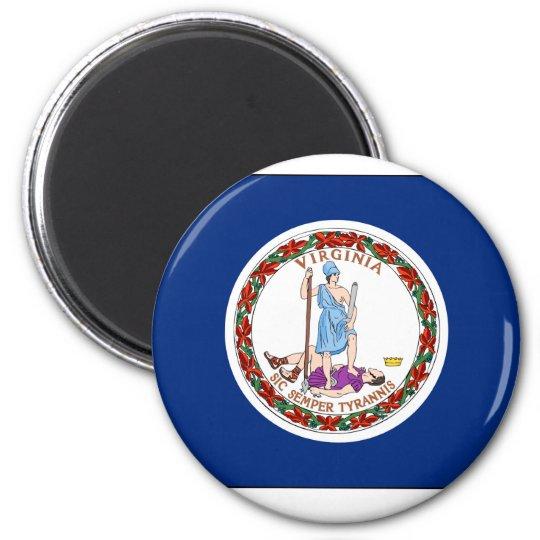 Virginia State Flag Magnet