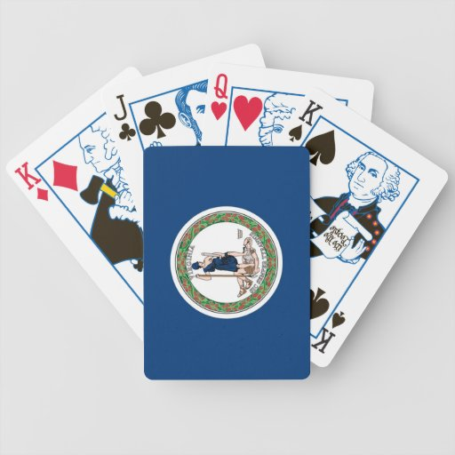 Virginia State Flag Playing Cards