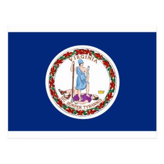 Virginia State Flag Postcard