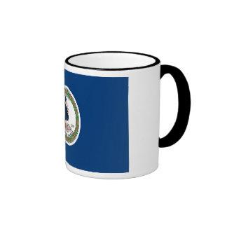 Virginia State Flag Ringer Mug