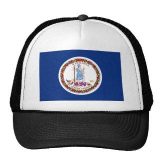 Virginia State Flag Trucker Hat